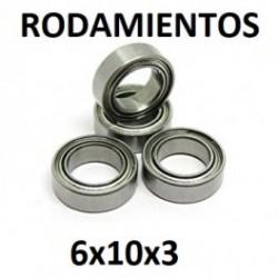 RODAMIENTOS 6X10X3MM (4UD)